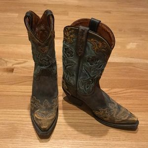 Dan Post Vintage Bluebird Leather Boot, size 7